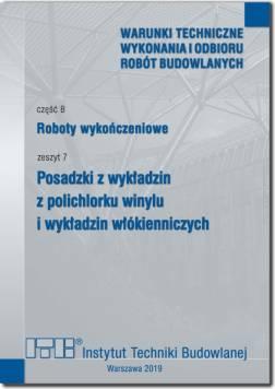 Roboty wykończeniowe, zeszyt 7:...