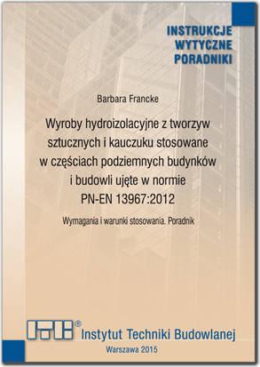 Wyroby hydroizolacyjne z tworzyw...