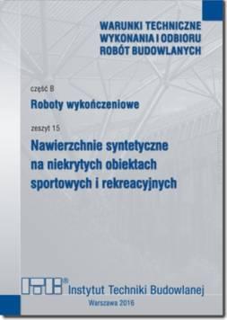Roboty wykończeniowe, zeszyt 15:...